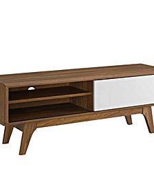 """Modway Envision 44"""" TV Stand White"""