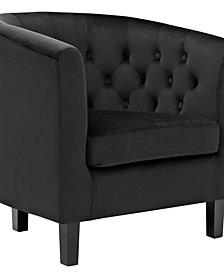 Modway Prospect Velvet Armchair
