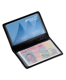 Royce Slim ID Credit Card Wallet in Genuine Leather