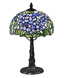 Blue Garden Tiffany Table Lamp