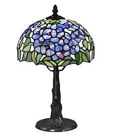 Dale Tiffany Blue Garden Tiffany Table Lamp