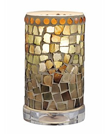 "Knighton 6.75""H Mosaic Accent Lamp"