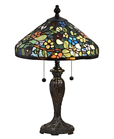 Southern Floral Tiffany Table Lamp