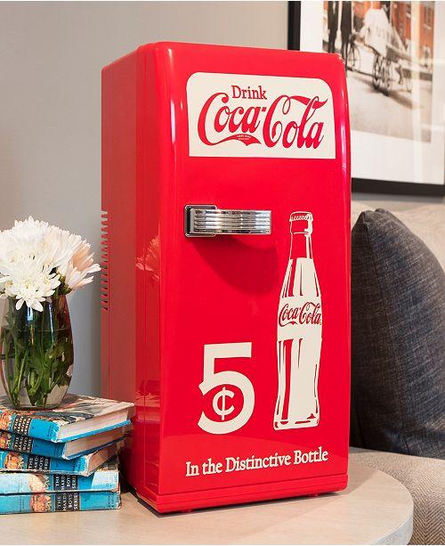 Coca Cola Fridge >> Coca Cola Koolatron Retro Fridge Reviews Home Macy S