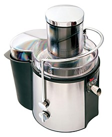 Total Chef Juicin' Juicer Wide Mouth Centrifugal Juice Extractor, 700W, 2 speeds, Auto Shut-off, Stainless Steel Blade, for Juicing Fruits, Vegetables, Greens, Almond Milk, and more
