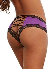 Plus Size Criss Cross Back Cheeky Panty