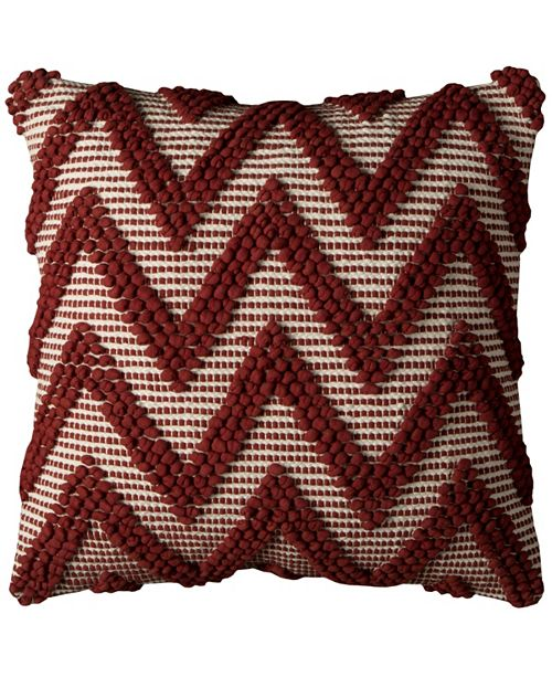 "Rizzy Home 20"" x 20"" Chevron Pillow Cover"