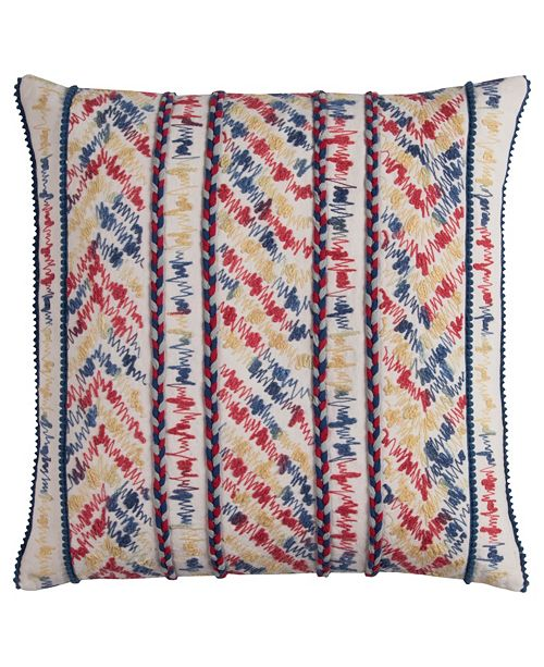 "Rizzy Home 20"" x 20"" Threaded Stripe Pillow Cover"