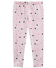 Epic Threads Toddler Girls Dot-Print Leggings, Created for Macy's