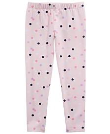 Epic Threads Toddler Girls Dot-Print Leggings, Created for Macy's
