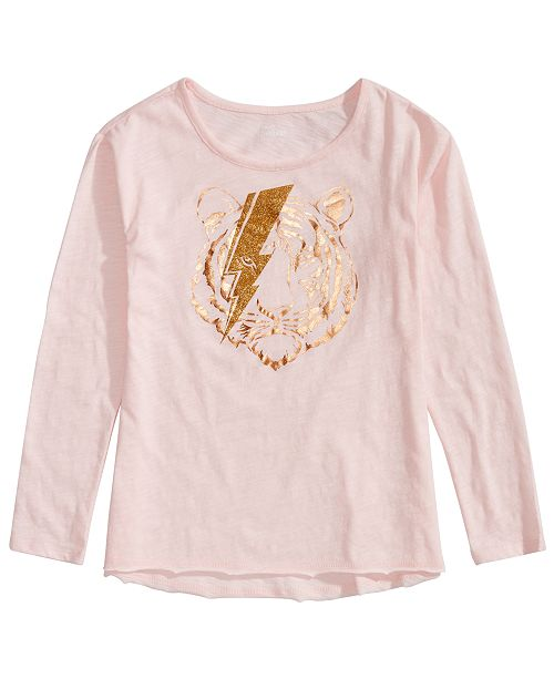 Epic Threads Big Girls Tiger Graphic T-Shirt, Created for Macy's