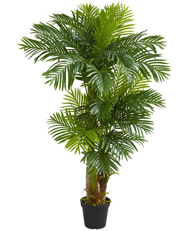 Nearly Natural 6' Hawaii Artificial Palm Tree