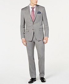 Men's Stripe UltraFlex Classic-Fit Suit Separates