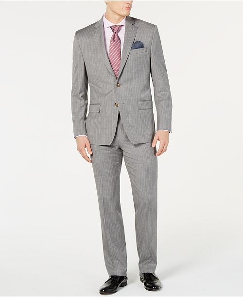 Lauren Ralph Lauren Men's Stripe UltraFlex Classic-Fit Suit Separates