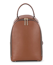 Céline Dion Collection Leather Triad Small Backpack