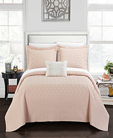Chic Home Shalya 4 Piece King Quilt Set