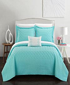 Chic Home Shalya 4 Piece Queen Quilt Set
