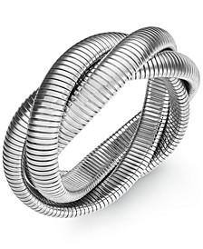 Twisted Herringbone Stretch Bracelet, Created for Macy's