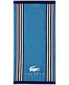 """Lacoste Oki Cotton 36"""" x 72"""" Beach Towel"""