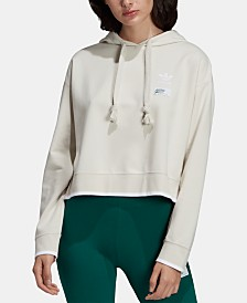 adidas Originals Stripe Out Cropped Hoodie