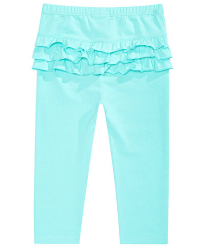 First Impressions Baby Girls Ruffled Leggings, Created for Macy's