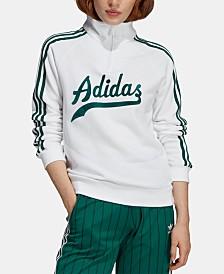 adidas Originals Stripe Out Quarter-Zip Sweatshirt