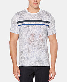 Perry Ellis Men's Splatter T-Shirt
