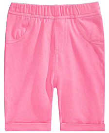 First Impressions Baby Girls Pull-On Bermuda Shorts, Created for Macy's