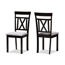 Set of 2 Rosie Dining Chair, Quick Ship