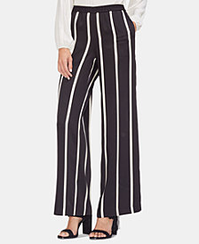 Vince Camuto Pull-On Striped Pants