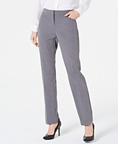 615e09f5e2 Alfani Petite Modern Straight-Leg Pants, Created for Macy's