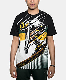 Sean John Men's Down Slope Graphic T-Shirt