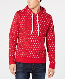 True Religion Men's Regular-Fit Monogram Logo Hoodie