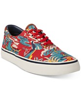 514e02f62f01 Polo Ralph Lauren Men s Floral Thompson Sneakers