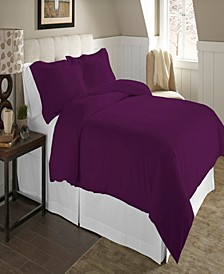 Luxury Size Cotton Flannel Duvet Set