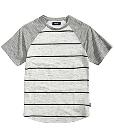 Big Boys Joseph Raglan Striped T-Shirt