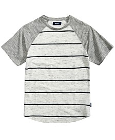 Univibe Big Boys Joseph Raglan Striped T-Shirt