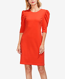 Vince Camuto Puff Shoulder Dress