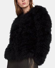 BCBGMAXAZRIA Feather Jacket