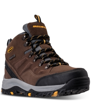 134415808ba UPC 190211230775 - Skechers Pelmo Mens Hiking Boots | upcitemdb.com