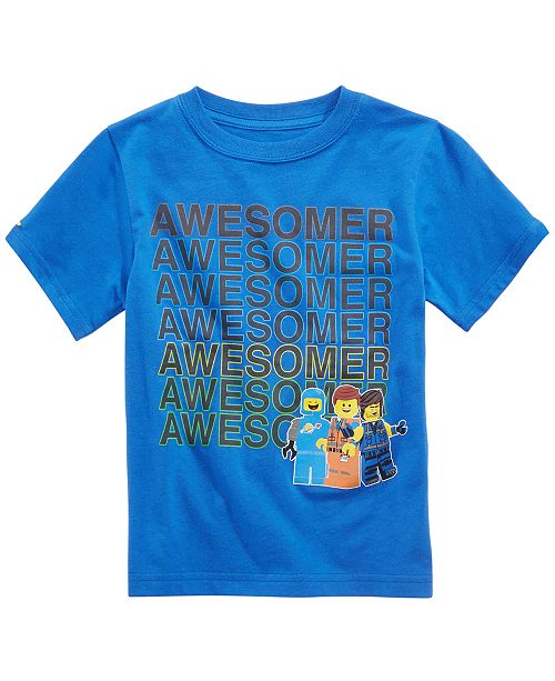 LEGO® Little Boys Lego Move Awesome Graphic Cotton T-Shirt
