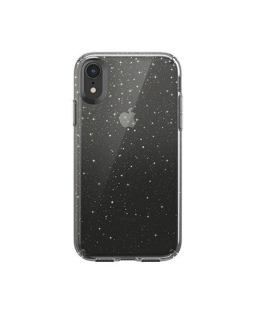 lowest price d4541 dde0b iPhone XR Presidio Clear + Glitter Case