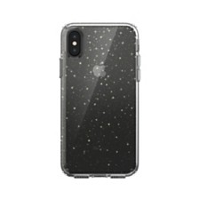 Speck iPhone XS/X Presidio Clear + Glitter Case