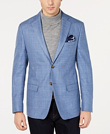 Men's UltraFlex Classic-Fit Plaid Sport Coat