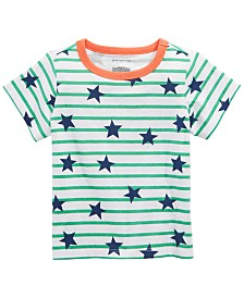 First Impressions Baby Boys Stars Striped T-Shirt, Created for Macy's
