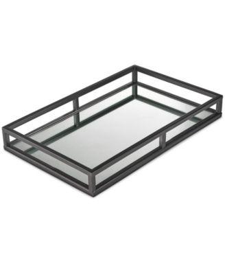 Gunmetal Mirror Tray, Created for Macy's