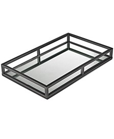 CLOSEOUT! Gunmetal Mirror Tray, Created for Macy's