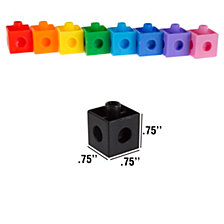 Building Block Cube Set- 100 Piece By Hey Play