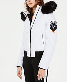 Superdry Everest Ella Quilted Bomber Jacket