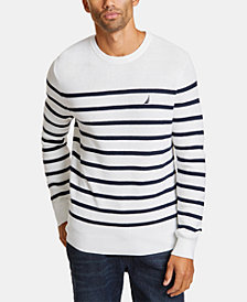Nautica Men's Breton Striped Sweater